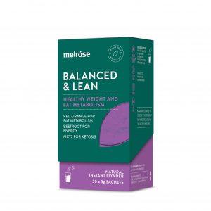 MELROSE Balanced & Lean Sachet 3g x 30 Pack
