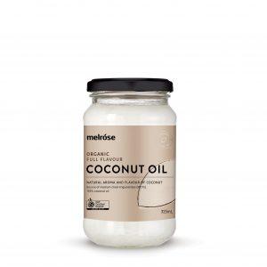 MELROSE Organic Coconut Oil Full Flavour 325ml