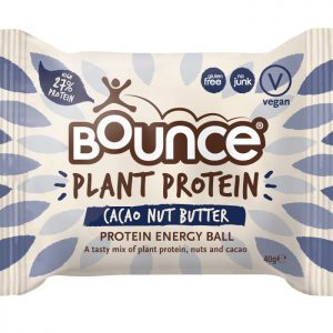 BOUNCE Plant Protein Balls Cacao Nut Butter 40g x 12 Display