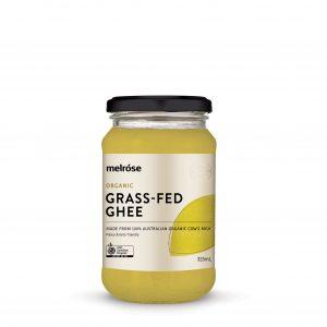 MELROSE Organic Grass Fed Ghee 325ml