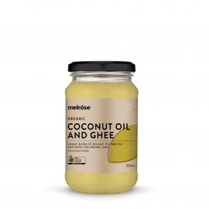 MELROSE Organic Coconut Oil and Ghee 325ml