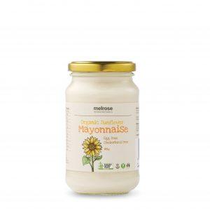 MELROSE Organic Sunflower Mayonnaise 365g