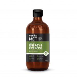MELROSE MCT Oil Fuel For Energy & Exercise 500ml