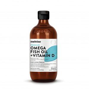 MELROSE Fish Oil + Vitamin D 500ml