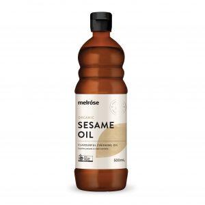 MELROSE Organic Sesame Oil 500ml