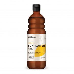 MELROSE Organic Sunflower Oil 500ml