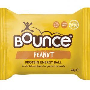 BOUNCE Energy Balls Peanut Protein Blast 49g x 12 Display