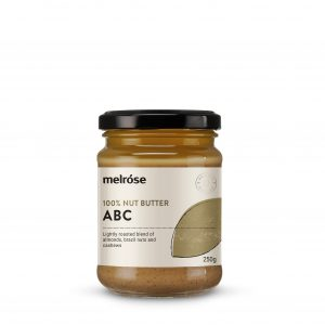 MELROSE 100% Nut Butter ABC (Almond Brazils & Cashews) 250g