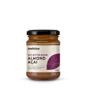 MELROSE Nut Butter Blend Almond Acai 250g