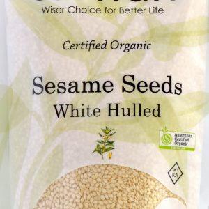 CARWARI Organic Sesame Seeds White Hulled 200g