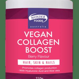 WONDER FOODS Vegan Collagen Boost Berry Flavour 210g