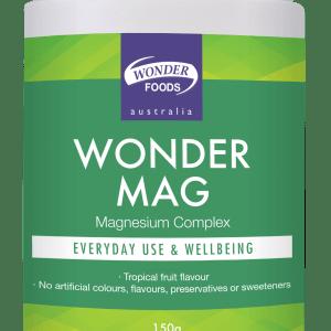 WONDER FOODS Wonder Mag Tropical Fruit Flavour 150g