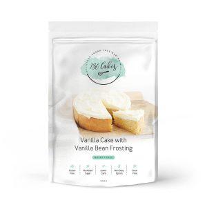 180 CAKES Cake Mix Vanilla with Vanilla Bean Frosting 330g