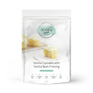 180 CAKES Cupcakes Mix Vanilla with Vanilla Bean Frosting 330g