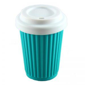 ONYA Reusable Coffee Cup Aqua 355ml
