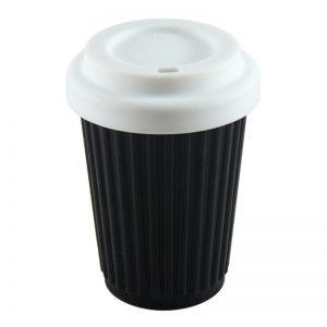 ONYA Reusable Coffee Cup Black 355ml