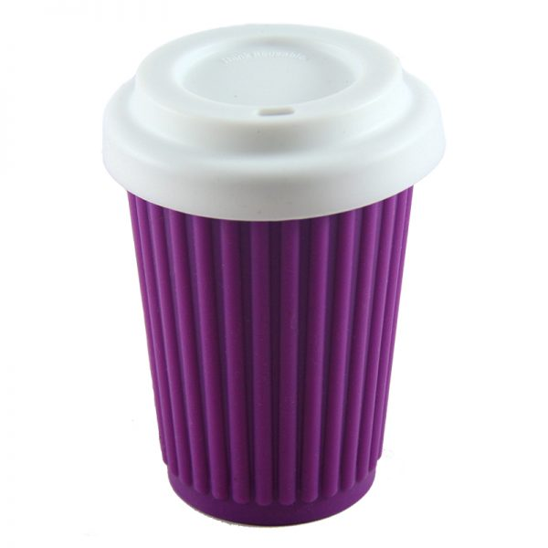 ONYA Reusable Coffee Cup Purple 355ml