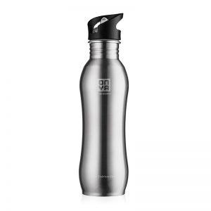 H2ONYA Stainless Steel Bottle 750ml (Brushed Steel)