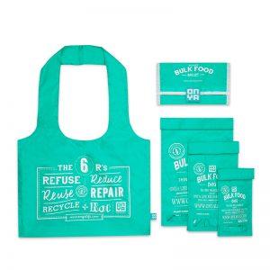 ONYA Reusable Bulk Food Bag Set Aqua