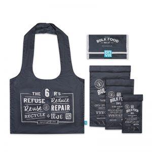 ONYA Reusable Bulk Food Bag Set Charcoal