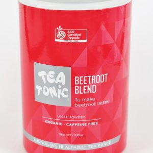 TEA TONIC Beetroot Latte Blend Tube 150g