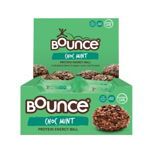 Bounce Protein Energy Balls Cacao Mint 42g x 12 Display