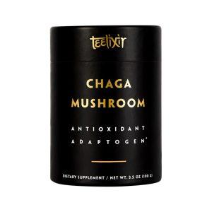 TEELIXIR Organic Chaga Mushroom (Antioxidant Adaptogen) 100g
