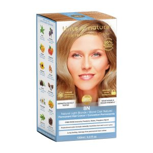 TINTS OF NATURE Permanent Hair Colour Natural Light Blonde 8N