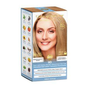 TINTS OF NATURE Permanent Hair Colour Very Light Golden Blonde 9D